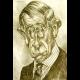 Namaľovanie vlastnej karikatúry talentovaným I.Jakušovským