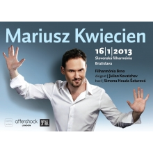 Dva VIP lístky na koncert Mariusza Kwieciena (+ vstup na afterparty)