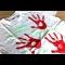 Tričko s podpisom a odtlačkami rúk moderátorky Adriany Kmotríkovej