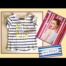 Originálne tričko pre vaše dieťa vyrobené herečkou Kristínou Farkašovou