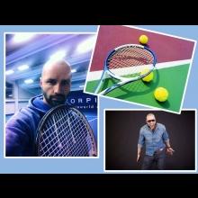 Zahrajte si tenis so spevákom Robom Opatovským