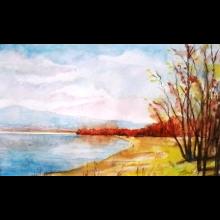 Jesenná pláž