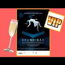 2 VIP lístky na predstavenie Diela terezínskych majstrov a Opera Brundibár