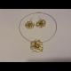Zlatá sada šperkov