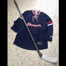 Získajte originálnu hokejku a dres s podpismi hráčov Slovana