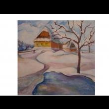 Marko - Je viac terapií... - obraz Zimná krajina