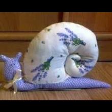 Voňavý levanduľový slimák.