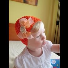 Čiapočka - oranžová