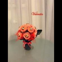 Sladká kytica Valentín