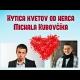 Kytica kvetov doručená Michalom Kubovčíkom - špeciálnym kuriérom