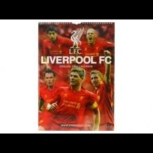 Liverpool FC oficiálny kalendár na rok 2013