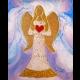 "Obraz - ""Dúhový anjel lásky"""