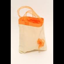plátnová darčeková taška s mašľou