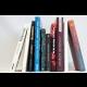 Päť kníh finalistov súťaže ANASOFT litera 2015 s vlastnoručnými podpismi autorov
