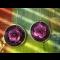 naušnice fialky