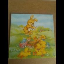 Krásny Veľkonočný obraz 16x16cm