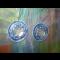 Modré naušnčky