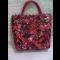 Originálna ručne šitá papierová kabelka