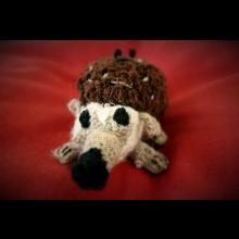 Julkin háčkovaný ježko