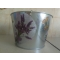 Závesný zinkový kvetináč