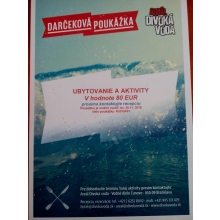 80-eurový poukaz do Areálu Divoká voda