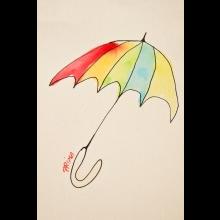 VAŠA TAŠKA s dáždnikom