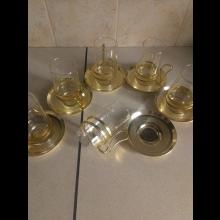 Retro párty set pohárov