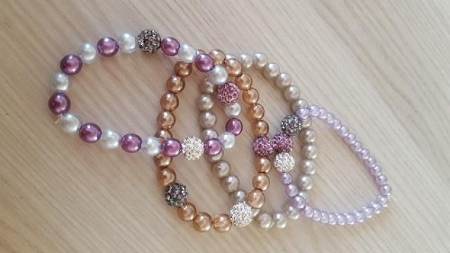 Letné perličkové náramky  abeff981dd5