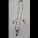 Sada- náhrdelník a náušnice