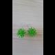 Zelené veselé náušnice