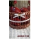 Ručne pletený košík