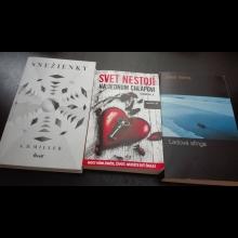 Balíček kníh: Snežienky, Svet nestojí na jednom chlapovi, Ľadová sfinga