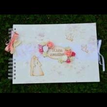 Svadobný handmade fotoalbum