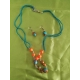 Koráliková set náušnice a náhrdelník