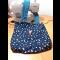 Modré variácie - obojstranná taška