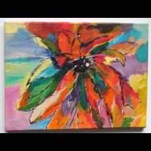 Mnohofarebný kvet