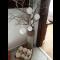 Háčkované vianočné guľôčky - 8 ks