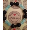 Energetické náramky- čierna láva, modrý jadeit