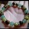 Energetickė náramky - avanturin zelený, tyrkys žltý, tigrie oko