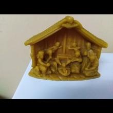 Betlehem zo včelieho vosku