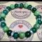 Energetický náramok- smaragdový jadeit,nefrit