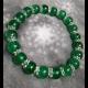 Energetický náramok - smaragdový jadeit