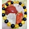 Náramok-ónyx, slnečný jantár