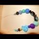 Veselé korálky - modré