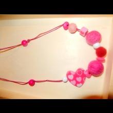 Veselé korálky - ružové