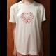 Dámske tričko s vyšitým ľudovým vzorom - Veľkosť: L