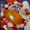 Náramok - jadeit, krvavý korálový jadeit,ruženín