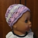 Jarná háčkovaná čiapočka A