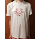 Dámske tričko s vyšitým ľudovým vzorom - Veľkosť: 2XL