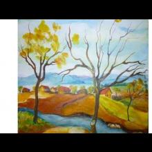 Markova rehabilitácia, obraz Jeseň pod horami